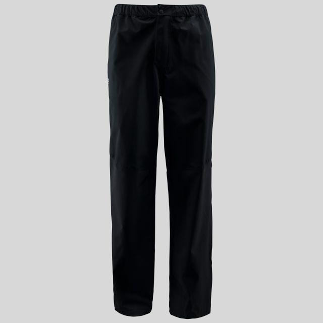 Crestone Mens Waterproof Packaway Trousers in Black
