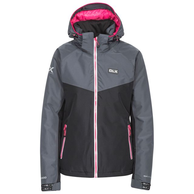 Crista Women's DLX Ski Jacket in Black