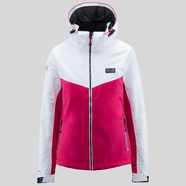 Crista Women's DLX Ski Jacket in Pink