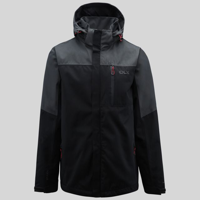 Danson Mens Waterproof Jacket in Black