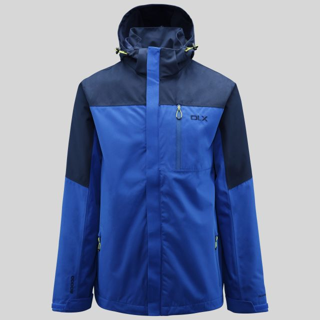 Danson Mens Waterproof Jacket in Blue