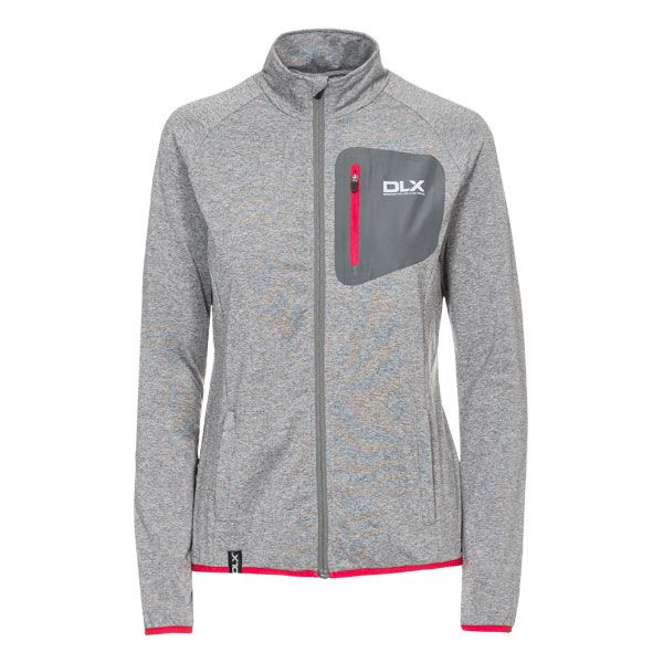 Darby Womens Full Zip Active Jacket - GRM