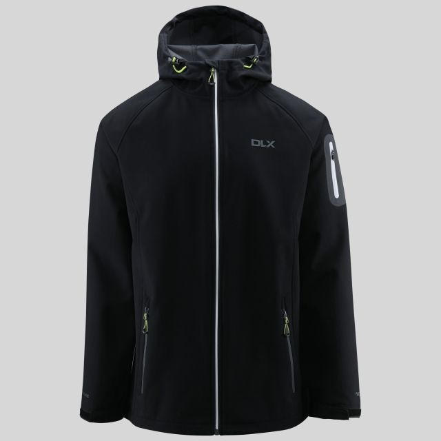 Delgado Mens Softshell Jacket in Black