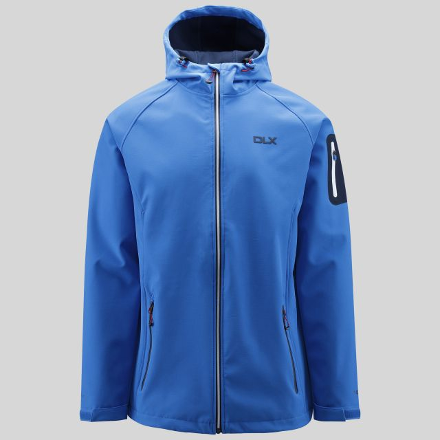 Delgado Mens Softshell Jacket in Blue