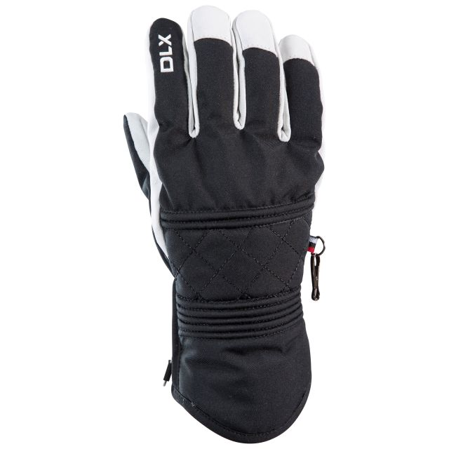 Derigi Adults Waterproof Ski Gloves in Black
