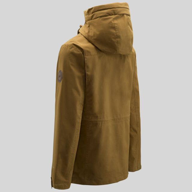 Destroyer Mens Waterproof Jacket in Yellow