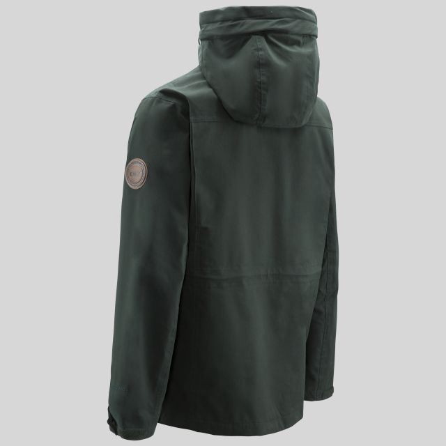 Destroyer Mens Waterproof Jacket in Khaki