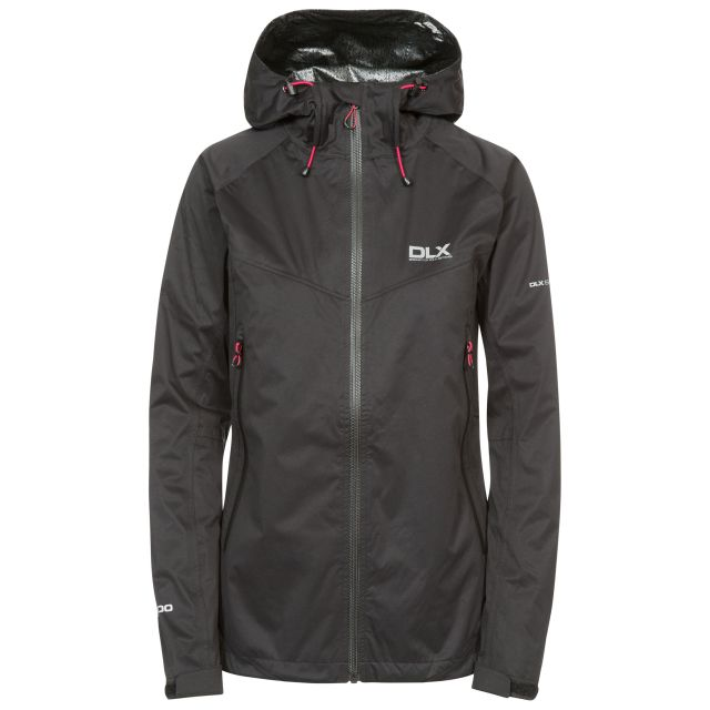 Erika II Womens Waterproof Jacket  - BLK