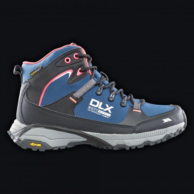 Arlington Womens Walking Boots in Blue