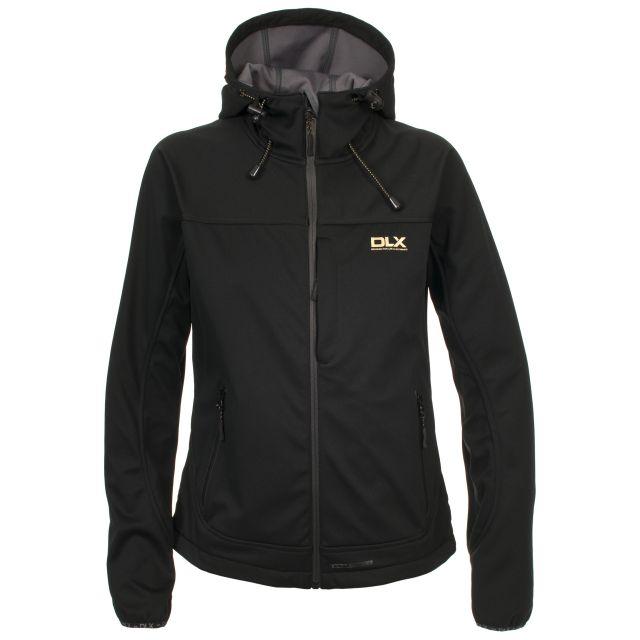 Thalia Womens Waterproof Softshell Jacket in Black