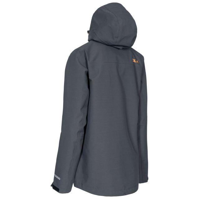 Gayle Womens Waterproof Jacket in Grey
