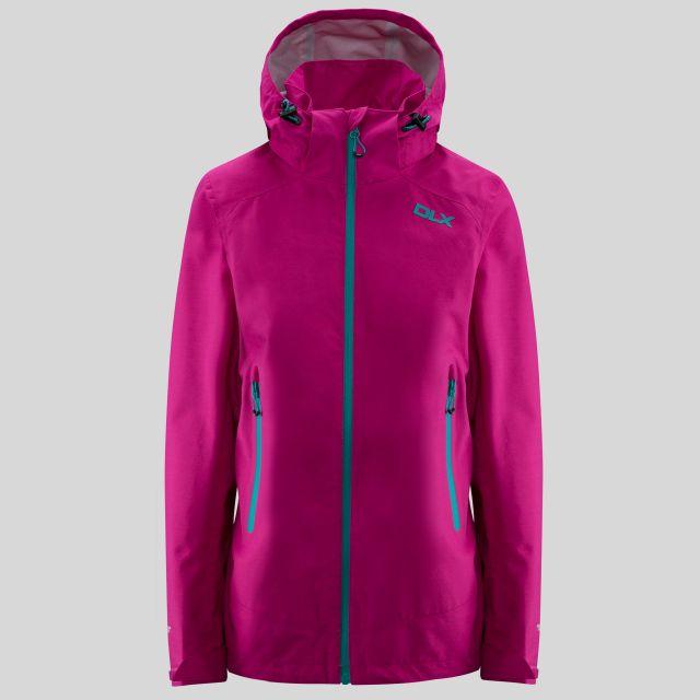 Gayle Womens Waterproof Jacket in Pink