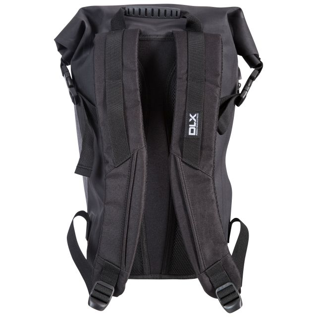 Gentoo 20 Litre Waterproof Roll Top Backpack in Black
