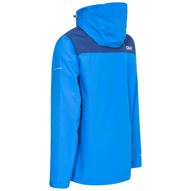 Ginsberg Mens Waterproof Jacket in Blue