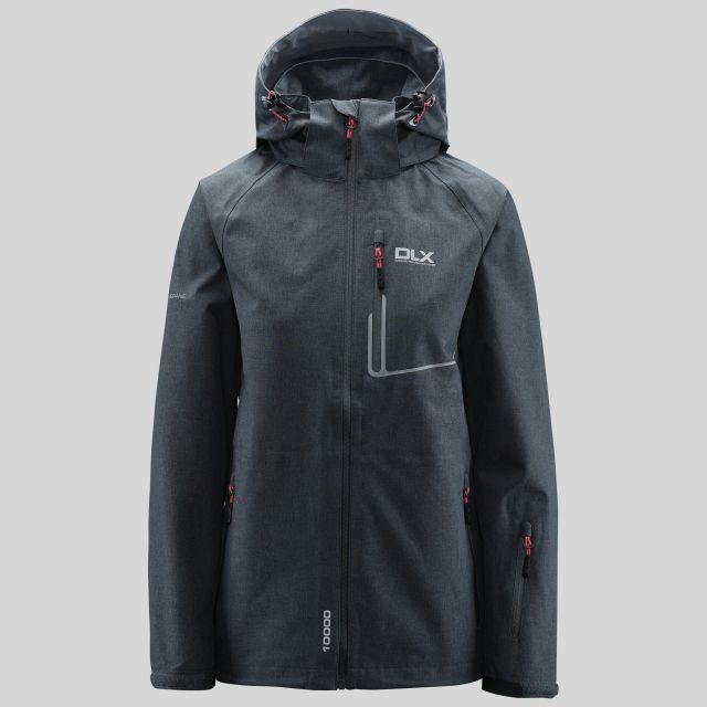 Gita Womens Breathable Waterproof Jacket in Grey