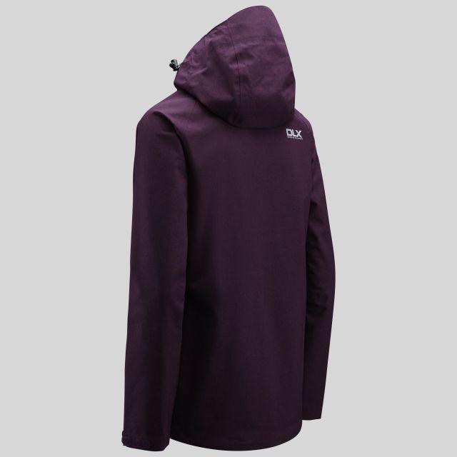 Gita II Womens Breathable Waterproof Jacket in Purple
