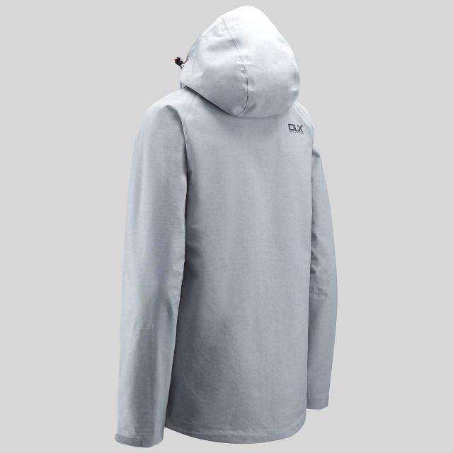 Gita II Womens Breathable Waterproof Jacket in Grey