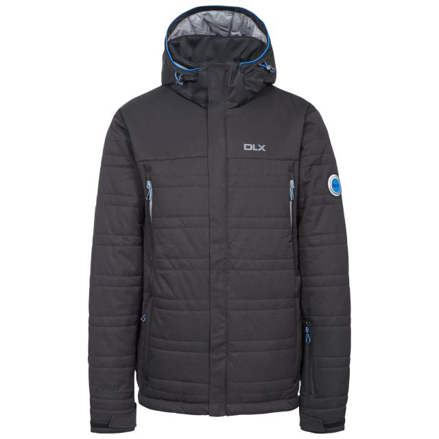 Hayes Mens Waterproof Ski Jacket in Black