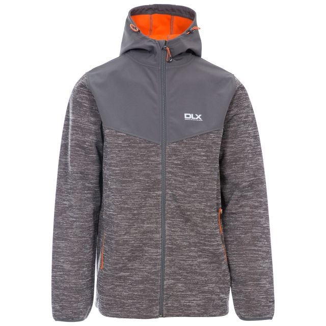 Hendricks Mens Softshell Jacket in Grey