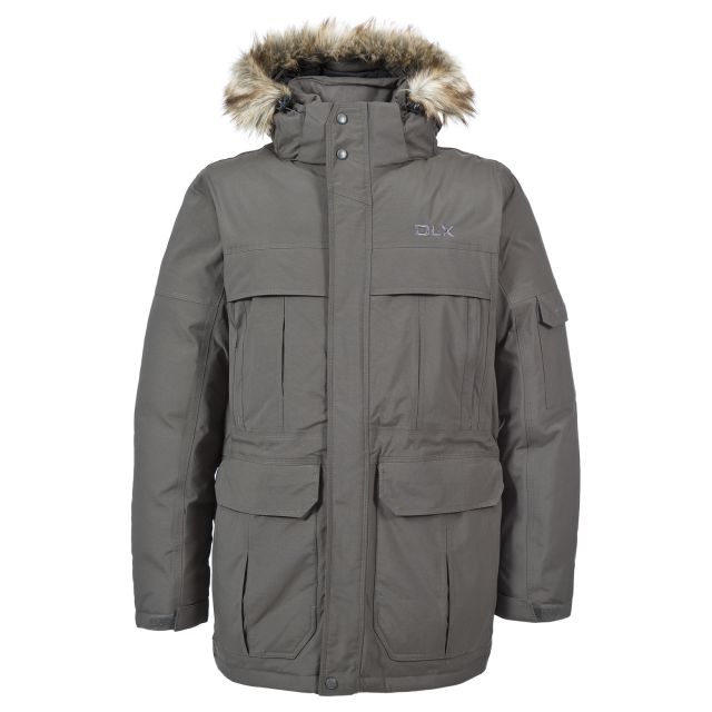Highland Mens Waterproof Down Parka Jacket - KHA