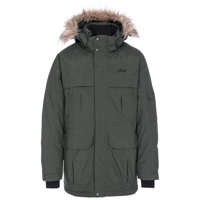 Highland Mens Waterproof Down Parka Jacket - OLI
