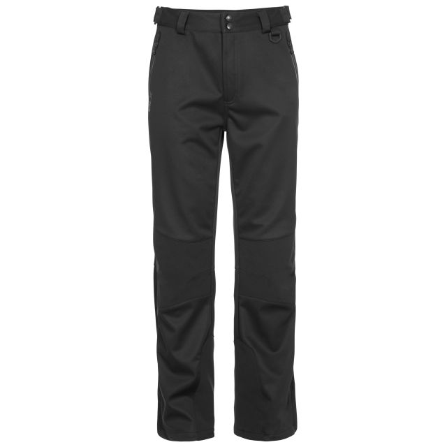 Holloway Mens Walking Trousers in Black