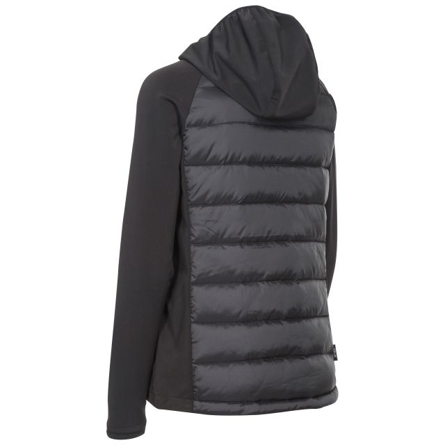Joyce Womens Black Hydrophobic Down Jacket in Black