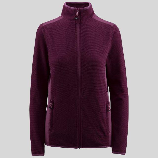 Kelsay Women's Fleece  in Purple