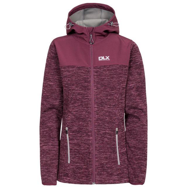 Kirsti Womens Breathable Softshell Jacket in Purple