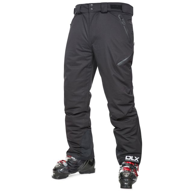 Kristoff Men's Insulated Stretch Ski Pants in Black