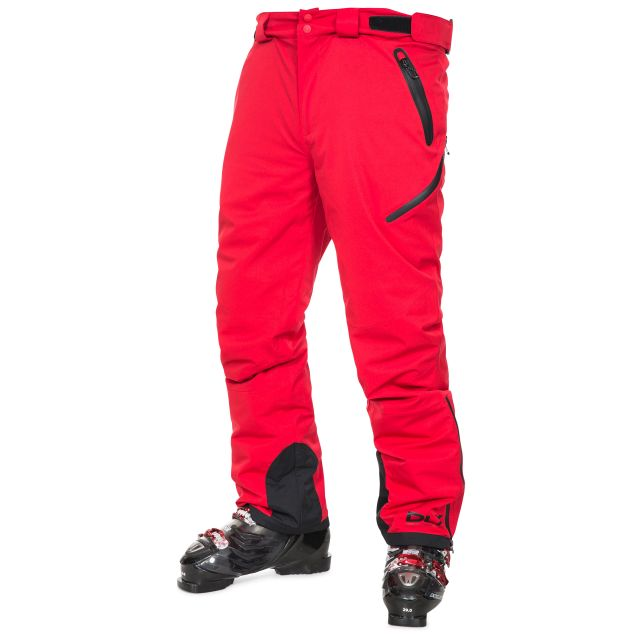 Kristoff Men's Insulated Stretch Ski Pants - RED