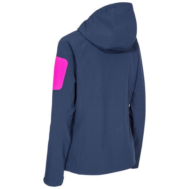 Landry Womens Waterproof Softshell Jacket in Navy