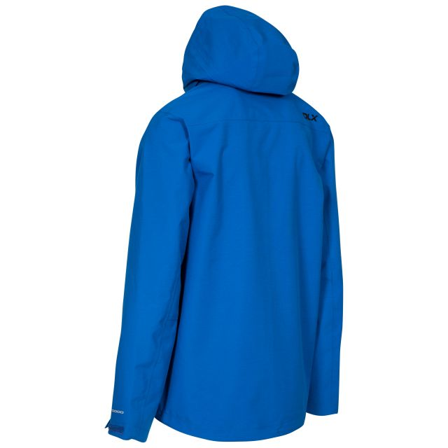 Lozano Mens Waterproof Jacket in Blue