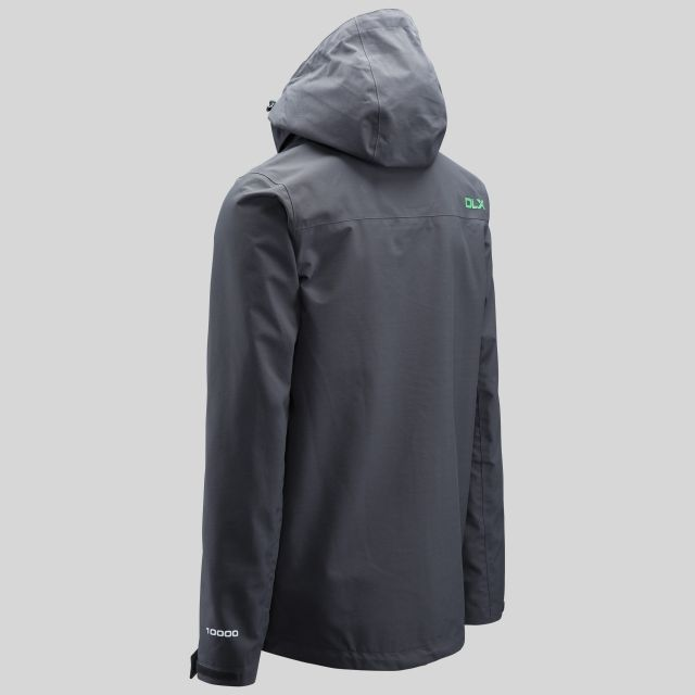 Lozano Mens Waterproof Jacket in Grey