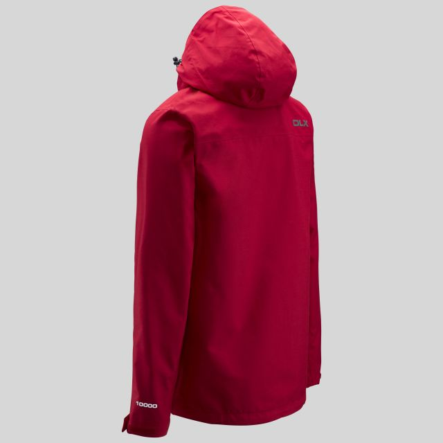 Lozano Mens Waterproof Jacket in Red