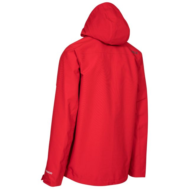 Lozano Mens Waterproof Jacket - RED