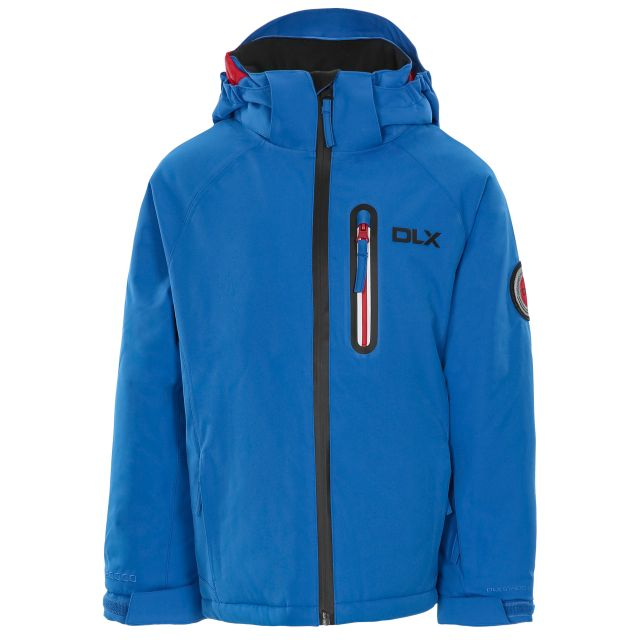 Luwin Kids' DLX RECCO Ski Jacket in Blue