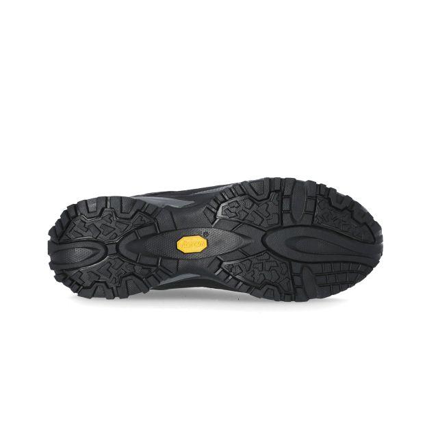 Magellan Mens Vibram Walking Shoes in Black
