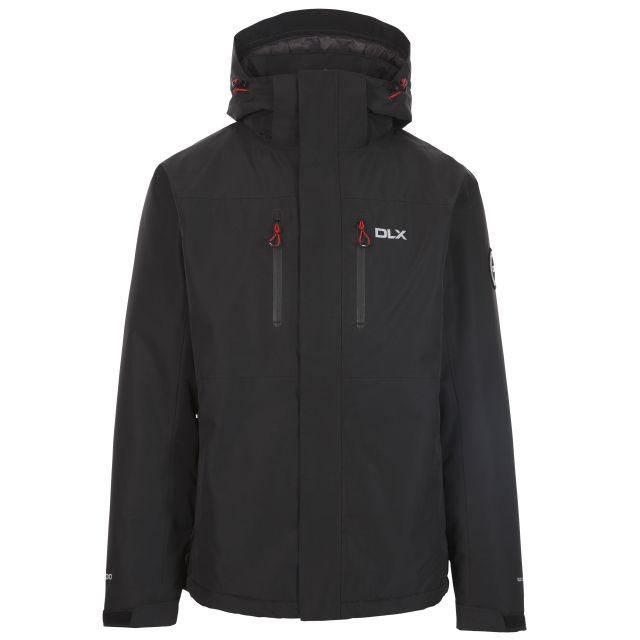Oswarm Mens Padded Waterproof Hooded Jacket - BLK