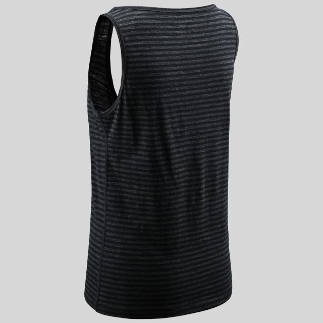 Mariella Womens Sleeveless Active Top in Black