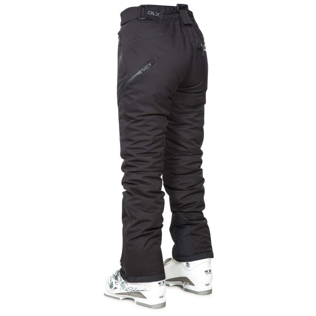 Marisol Womens Waterproof Ski Pants in Black