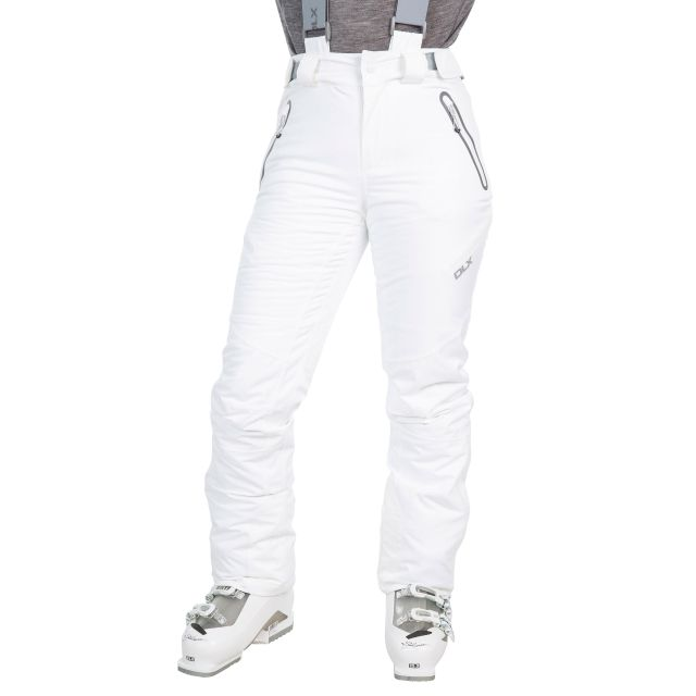 Marisol Womens Waterproof Ski Pants - WHT