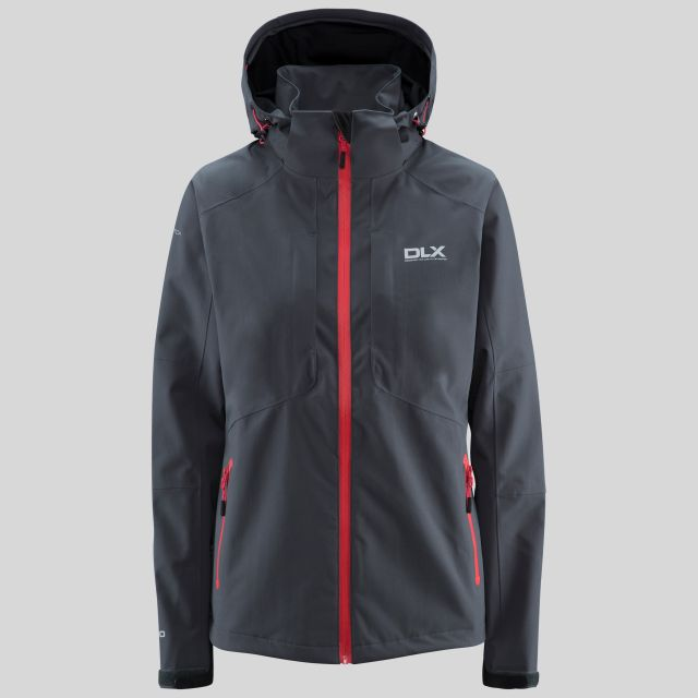 Martina Womens Waterproof Jacket in Grey