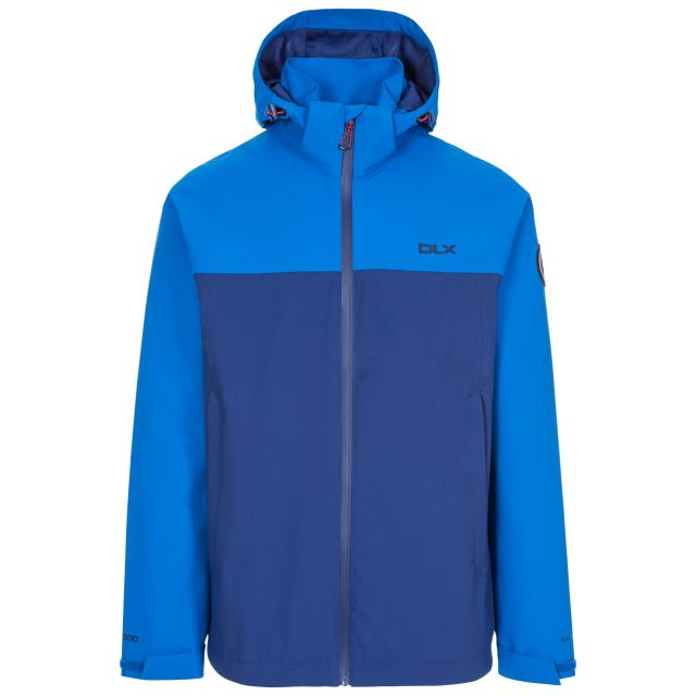 Marton Men's DLX Waterproof Jacket in Blue