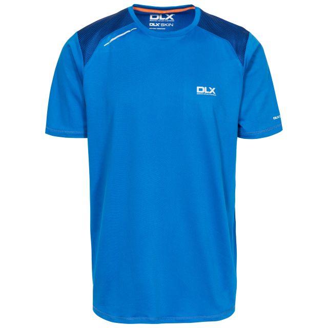 Pickens Mens Round Neck Active T-Shirt - BLU