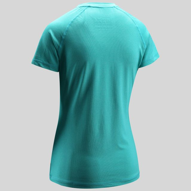 Monnae Womens Round Neck Active T-Shirt in Green