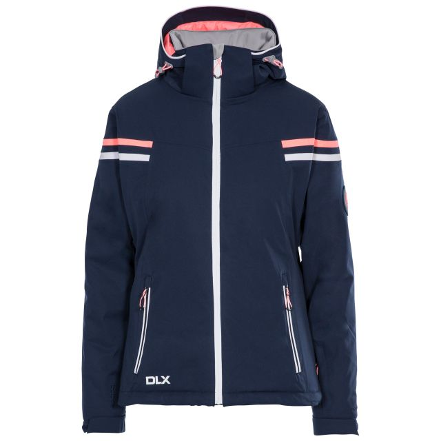 Natasha Women's DLX RECCO Waterproof Ski Jacket in Navy