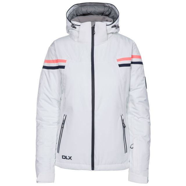 Natasha Women's DLX RECCO Waterproof Ski Jacket - WHT
