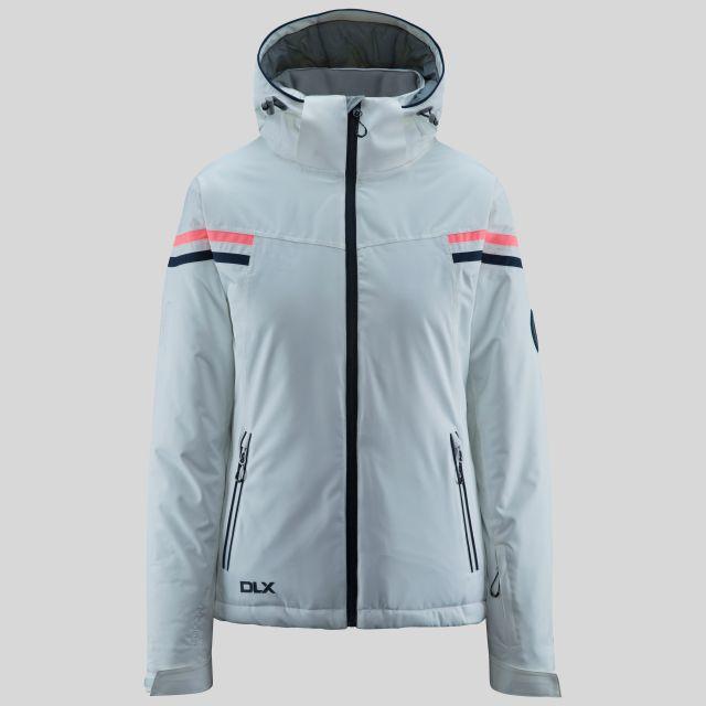 Natasha Women's DLX RECCO Waterproof Ski Jacket - WHT