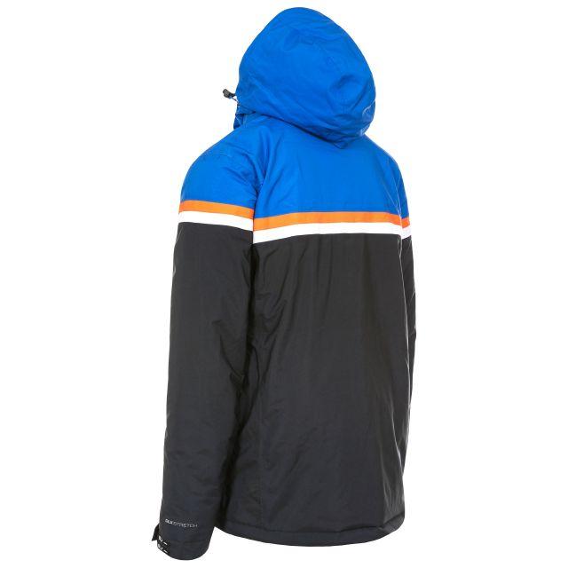 Niven Mens Waterproof Ski Jacket in Black